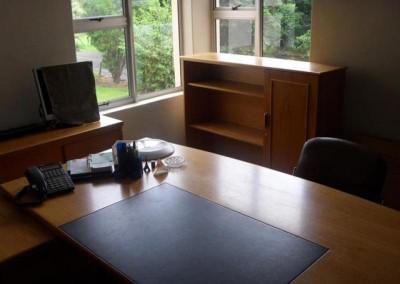 Mr Whitaker's new office