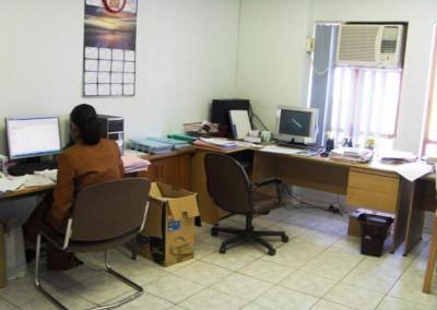 Staff area