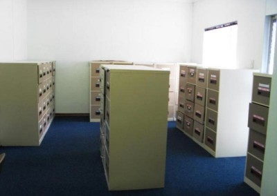 Old filing area