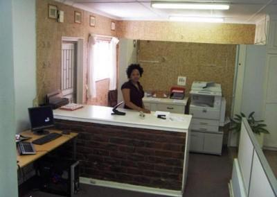 Old printing room
