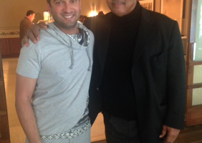 Mr Imraan Lockhat meets Reverend Jesse Jackson