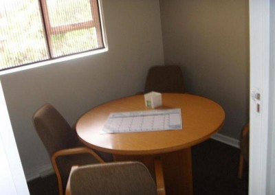 The new consulting room
